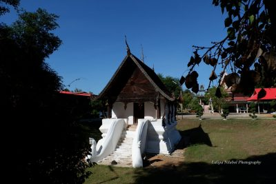 The 'sim' chapel of Wat Sema Ta Kor (Roi Et Province).