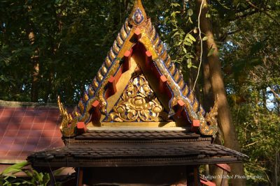 The Spirit House of Wat Pa Pai